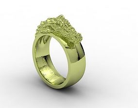 jewellery ring croc 3D print model