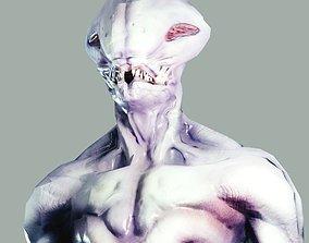 3D asset Slimy Alien