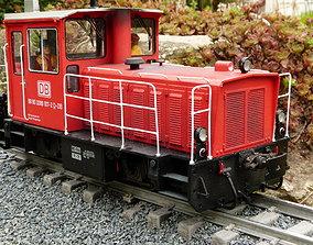 3D Diesellok der Inselbahn Wangeroog
