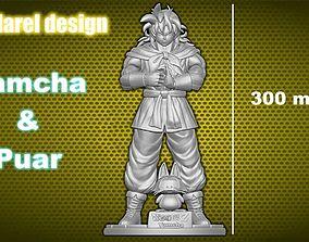 Yamcha and Puar 3D Printing