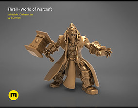 Thrall World of Warcraft 3D printable model