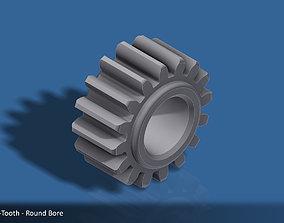 3D print model 16-Tooth Spur Gear 03