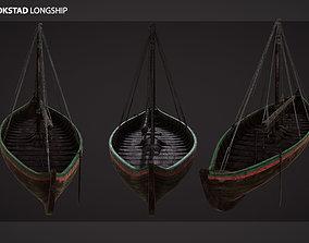 3D asset Gokstad Longship
