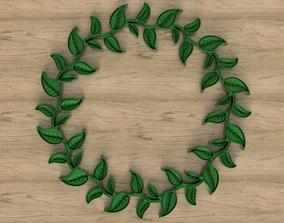 Wreath of Leaves 3D model