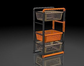 Shelf Kitchen stuff 3D printable model