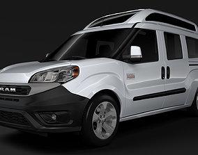 Ram ProMaster City Wagon SLT H2 2020 3D model