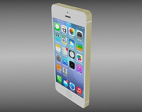 3D Iphone 5S Gold