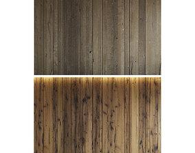 Wood panel set 6 3D model