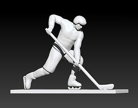 Figure skater 3D print model