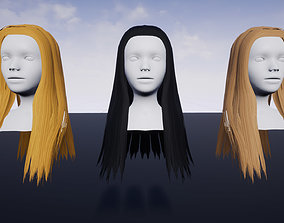 3D asset Hairstyle 2