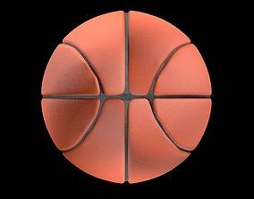Basketball ball 3D model PBR