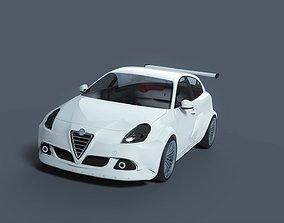 Alfa Romeo Giulietta 2010 sport 3D