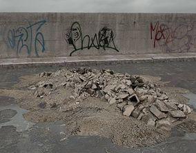 rubble 026 am165 3D model