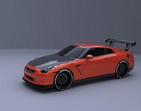 Nissan GTR SPAC V10 MODIFIED 3D model