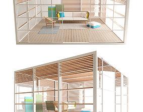 Kettal Pavilion XL Set 3D