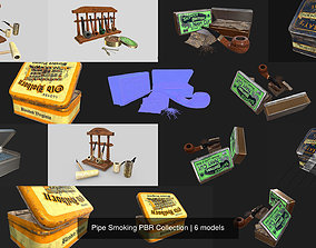 3D model Pipe Smoking PBR Collection