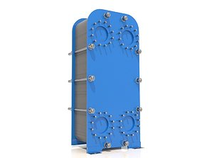 Heat exchanger machine 3D