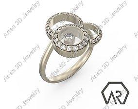 3D printable model Happy Ring 2