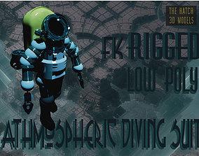 3D model Athmospheric diving suit