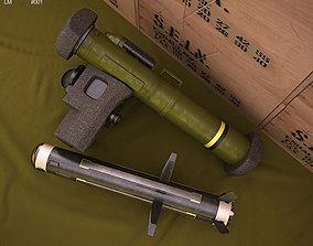 3D model FGM-148 Javelin