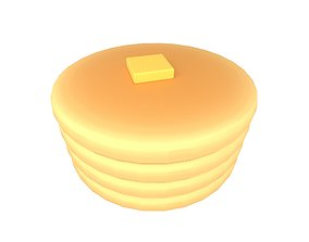 3D asset Pancake v4 003