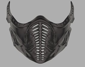 Noob Saibot mask from Mortal Kombat 3D print model