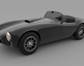 Shelby Cobra 3D asset game-ready