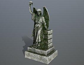 3D asset game-ready statue 2