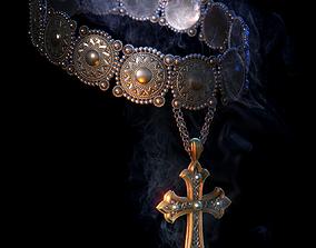 Medieval jewelery 3D model