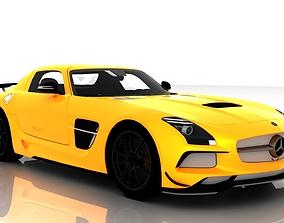 Mercedes Benz SLS AMG Black Edition 3D model