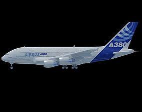 Airbus A380 3D