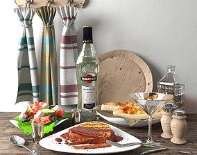 food set 1 3D model