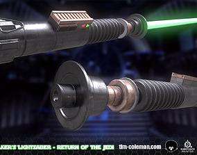 3D asset Star Wars - Return of the Jedi - Lukes Lightsaber
