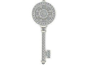Tiffany Pendant Key 2 3D printable model