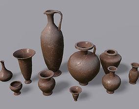 Vases PBR - Vol 3 3D asset