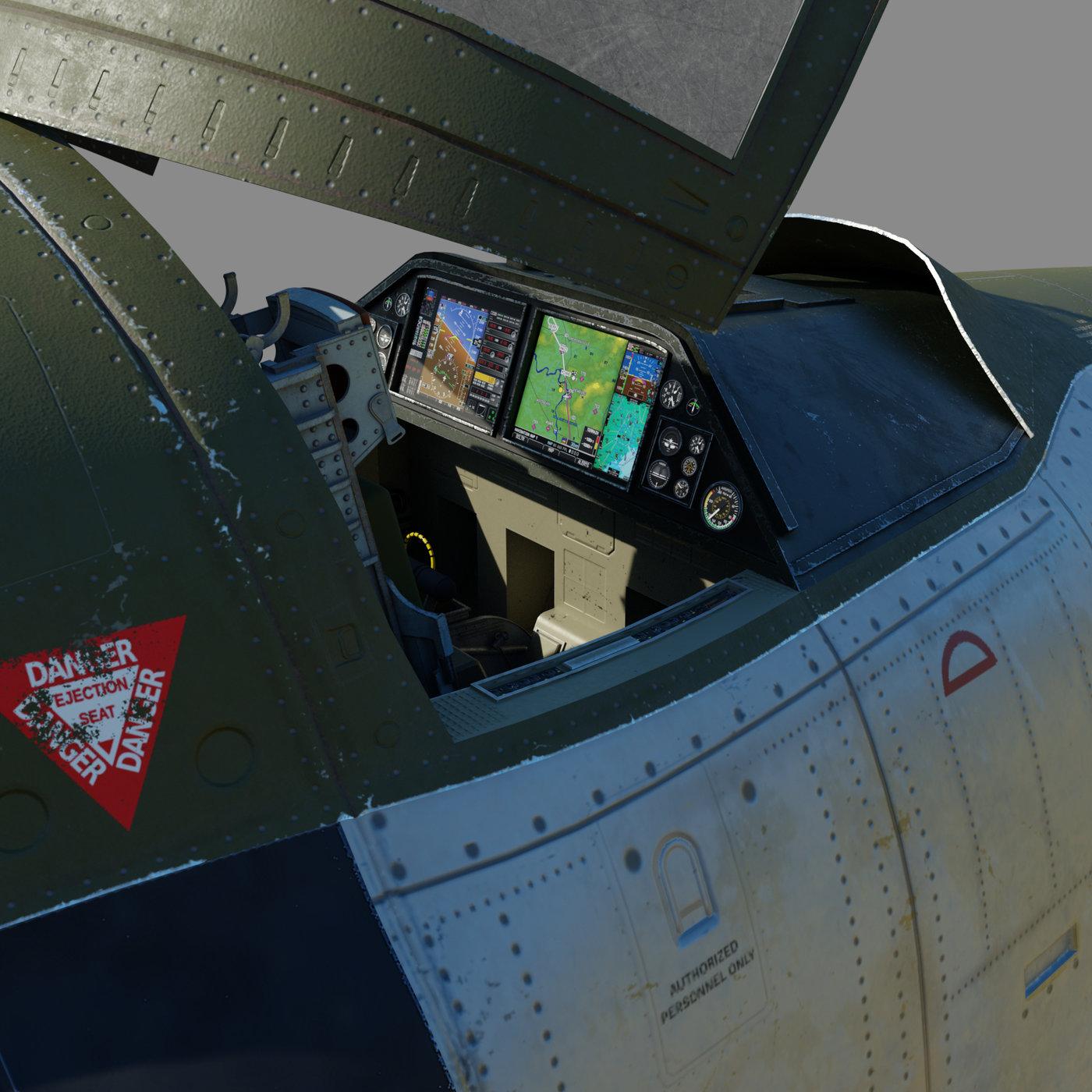 "A-12 Thunderbolt III ""Grasshopper"""