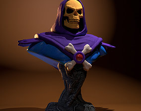 Skeletor Bust 3D printable model skeleton
