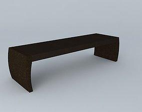 Christian Liaigre Bench 3D model