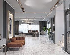 3D model Luxury Villa Interior
