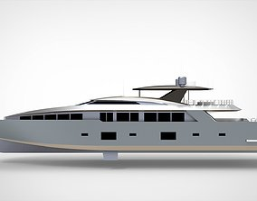 3D Luxury Yacht IV