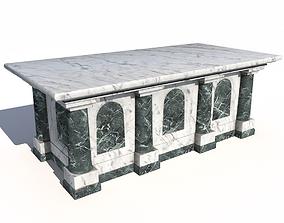 3D PBR Marble altar 5