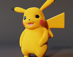 Pikachu Pokemon 3D printing