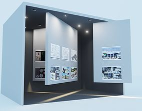 3D model rigged Exhibition Stand Design