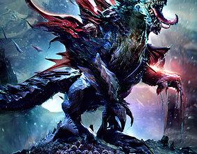 Nightmare Monster creature 3D
