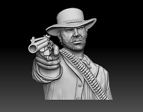 Red dead redemption pendant 3D printable model