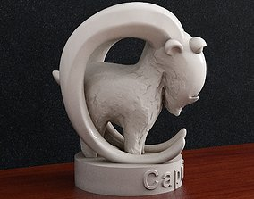 Capricorn Zodiac sign 3D print model