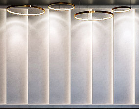 Wall Panel Set 36 3D model