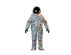 3D model Astronaut sci-fi