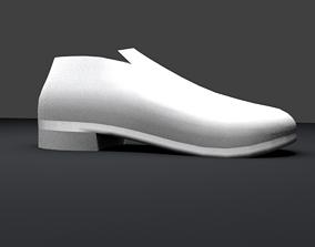3D asset realtime Napoleonic Soldier shoe