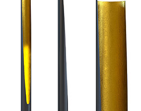 Floor Lamp Tube Duo 3D model